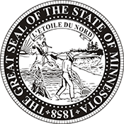 minnesota official state embossing seal minnesota state seal non customizable standard requirements