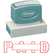 Stock One-Color Jumbo Stamps