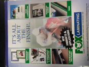 LAMINATING EQUIPMENT BROCHURE