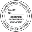 Professional Engineering Geologist