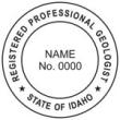 Registered Professional Geologist