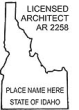 Licensed Architect AR 2258