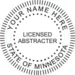 Licensed Abstracter