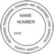 Registered Professional Engineer and Registered Land Surveyor