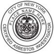 Certified Asbestos Investigator