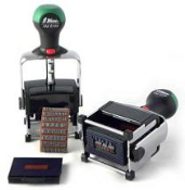 Self-Inking Date Stamp with Changeable Messages