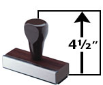 4 1/2 Inch Image Height