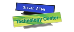 Contemporary Desk Signs