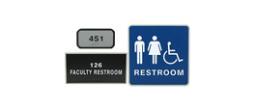 Framed ADA Signs