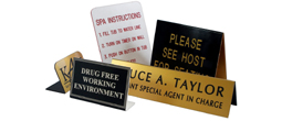 Tent and Freestanding Signs