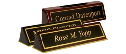 Piano Finish Easel Desk Signs