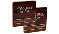 Contemporary Sliding Wall Signs