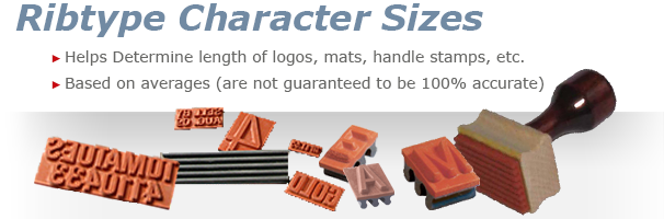 Character Sizes