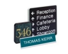 Xecutives Desk & Wall Signs