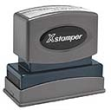 Pre-inked stamps are made from a special gel material that automatically releases ink to the surface like water from a sponge. Precision crafted, spring activated. X Stampers deliver 50,000 crisp, clean impressions without re-inking.