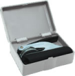 This seal storage case and shipping box presents a fantastic value and includes a separate mailing box. Visit Rubberstampsandseals.com